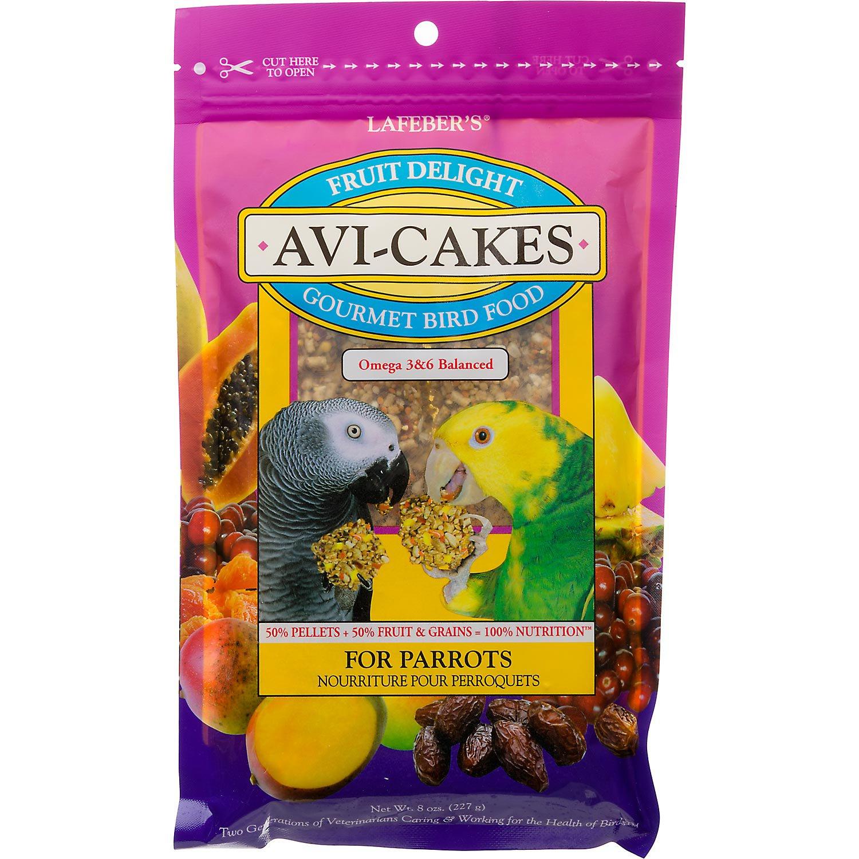 Lafeber's Fruit Delight Avi-Cakes for Parrots
