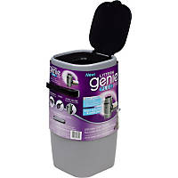 Litter Genie Plus Cat Litter Disposal System in Silver