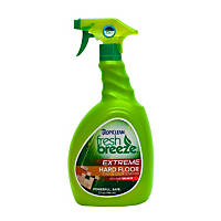 TropiClean Fresh Breeze Nature's Stain & Odor Remover Plus HabitBreaker Hard Floor Cleaner