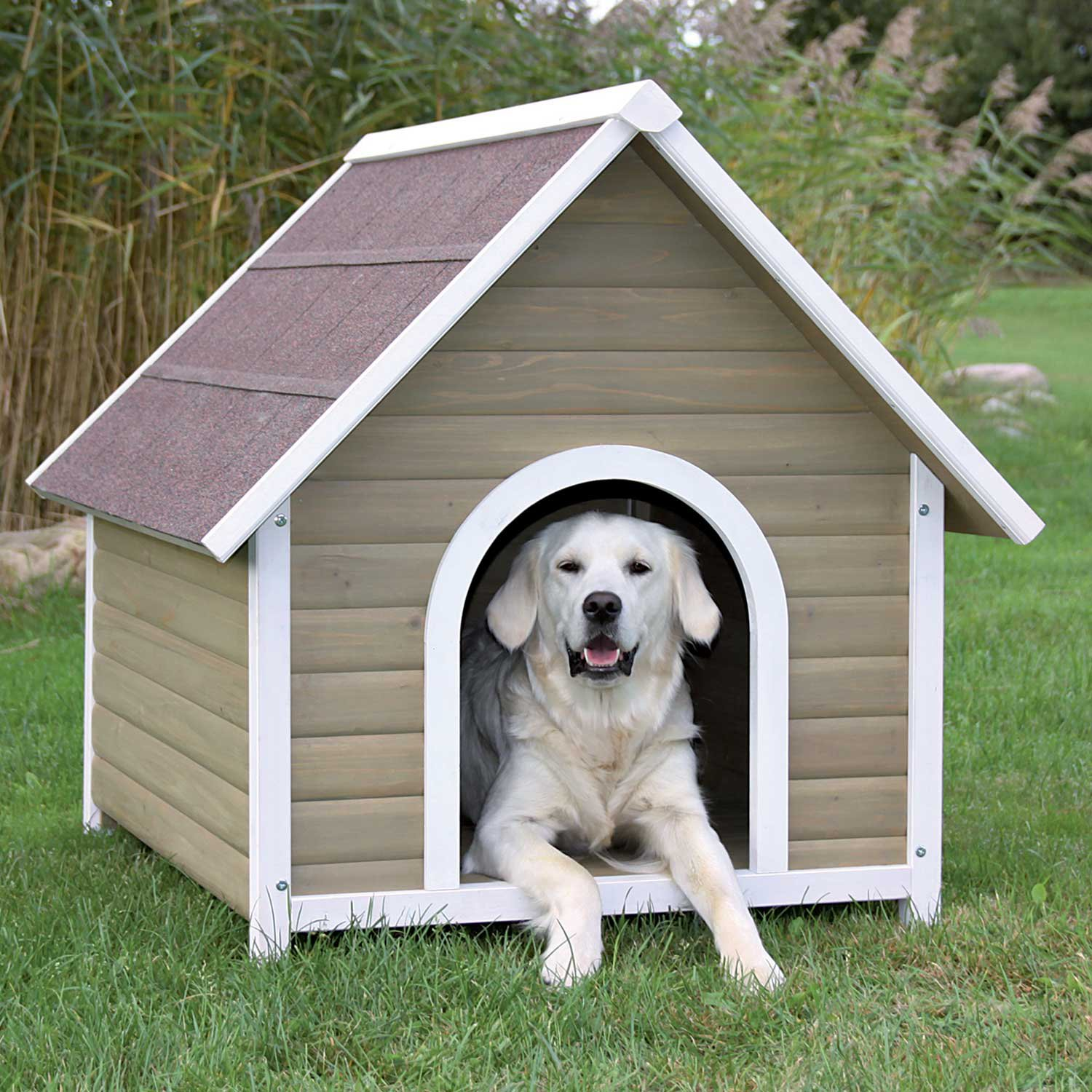 20 free dog house diy plans and idea 39 s for building a dog for Build a house online free