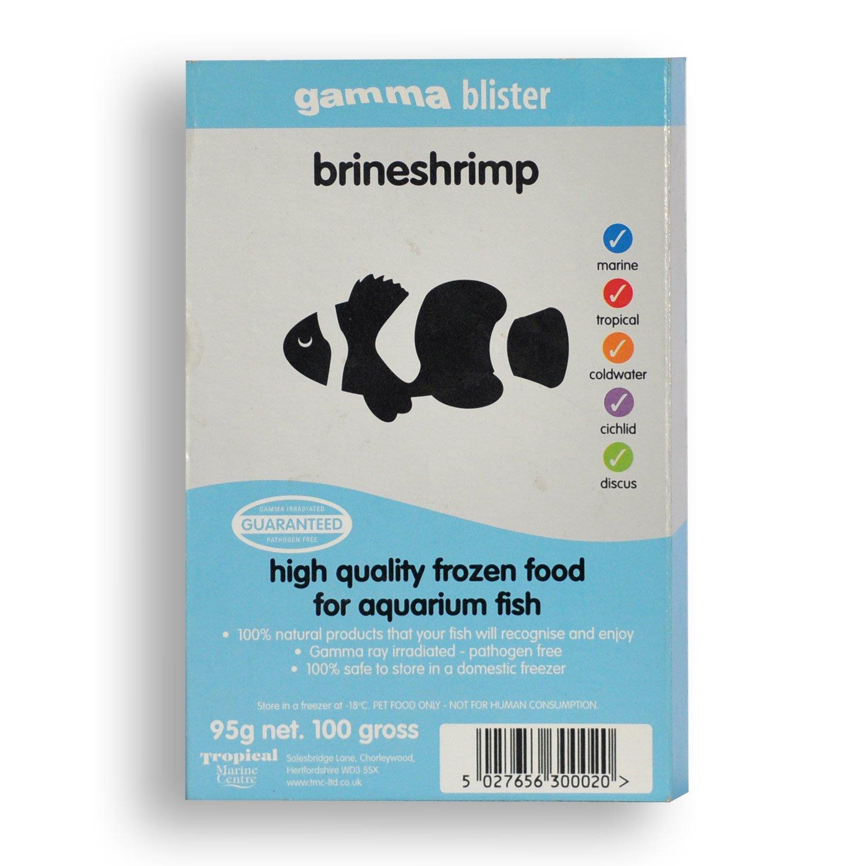 Gamma Frozen Food Brine Shrimp Blister Pack Fish Food