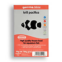Gamma Frozen Food Krill Pacifica Blister Pack Fish Food
