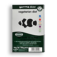 Gamma Frozen Food Vegetarian Diet Blister Pack Fish Food