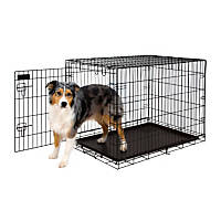 Petmate Training Retreat Wire Dog Kennel in Black