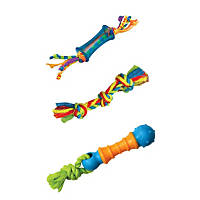 Petstages Mini Dental Chew Pack of Dog Toys, 3 Pack