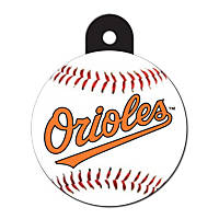 Quick-Tag Baltimore Orioles MLB Personalized Engraved Pet ID Tag, Large
