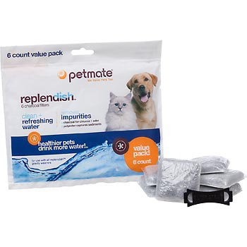 Petmate Replacement Filters for Replendish Auto-Watering Systems