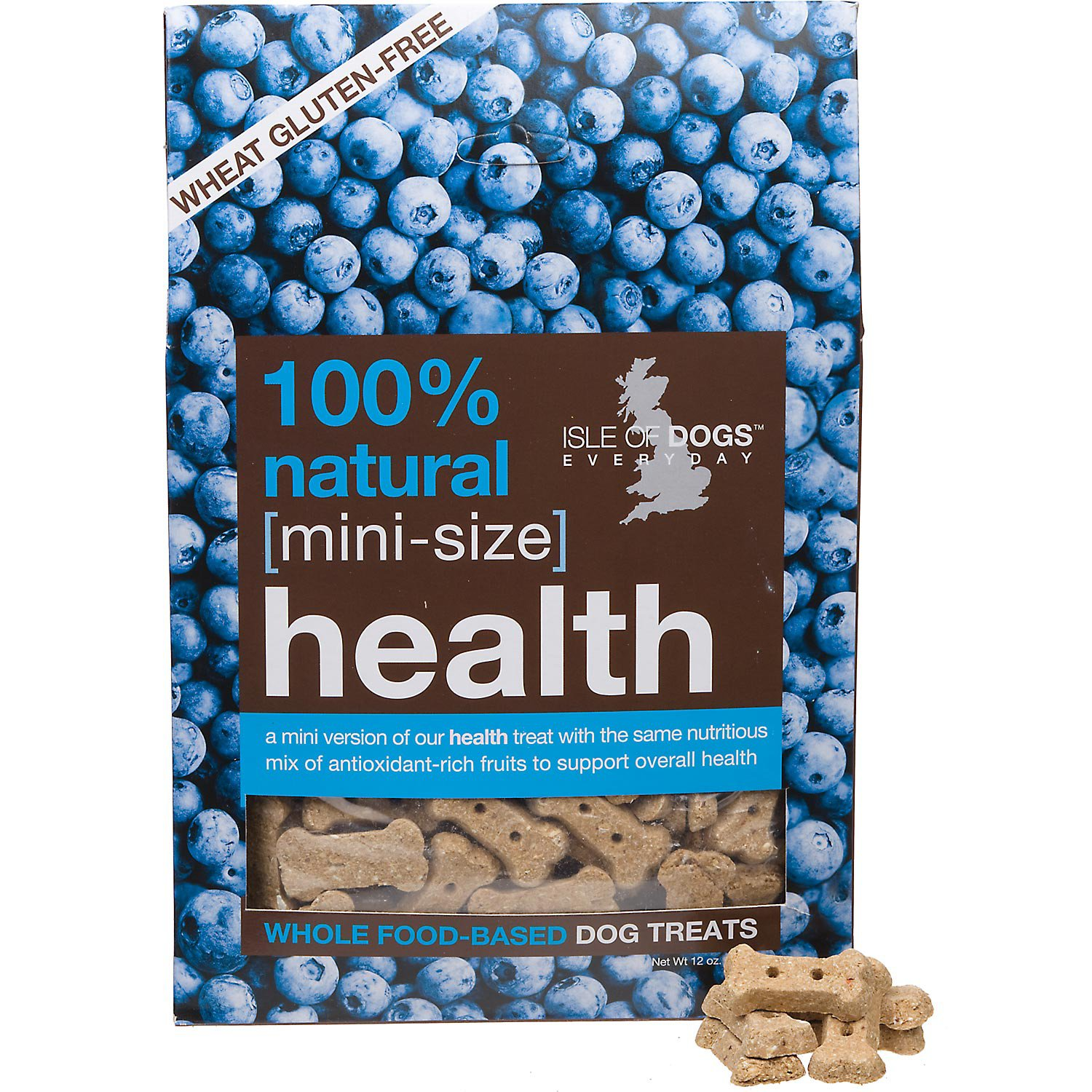Isle of Dogs Natural Health Mini Size Dog Treats