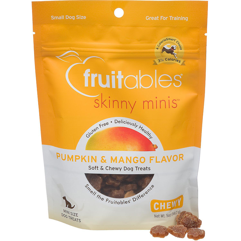 Fruitables Skinny Minis Pumpkin & Mango Soft & Chewy Dog