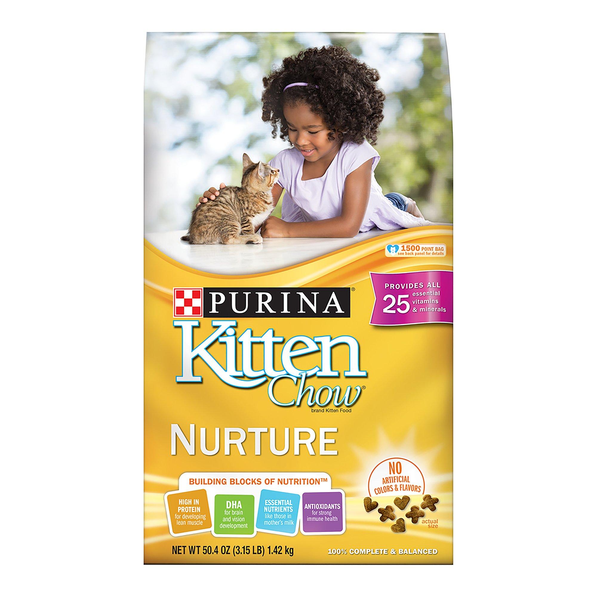 Purina Kitten Chow Nurture Formula Kitten Food