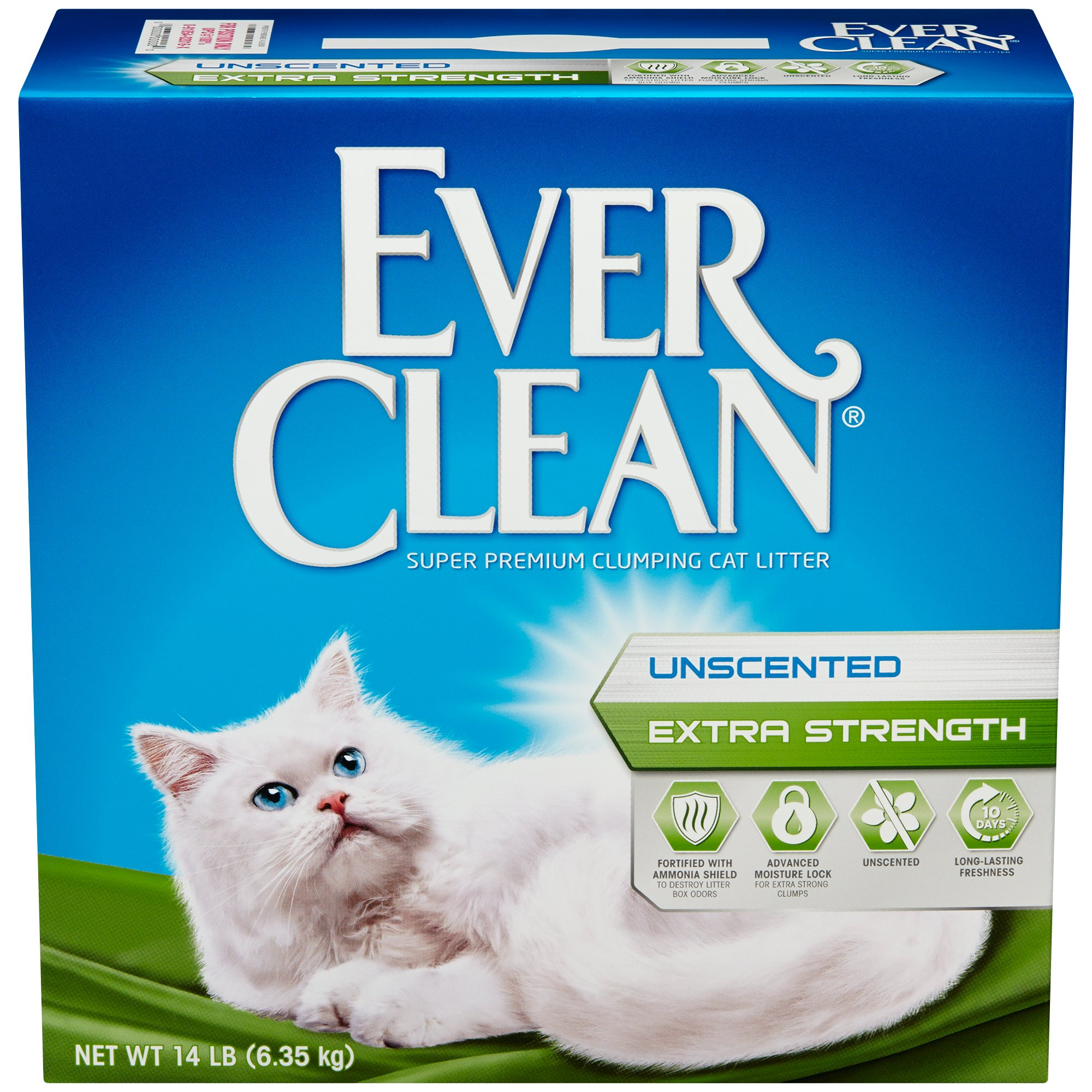 Ever Clean Unscented Extra Strength Premium Clumping Cat Litter