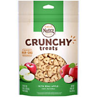 Nutro Crunchy Dog Treats with Real Apple