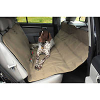Pet Ego Hammock Car Seat Protector in Tan