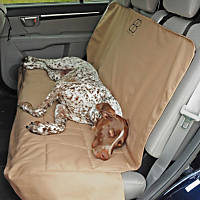 Pet Ego Rear Car Seat Protector in Tan