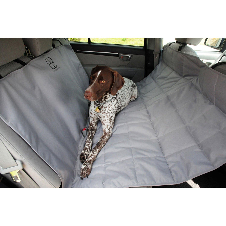 Pet Ego Hammock Car Seat Protector in Gray