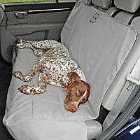 Pet Ego Rear Car Seat Protector in Gray