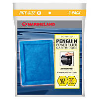 Marineland Rite-Size Bonded Filter Sleeve Three-Pack for Penguin 150/125 Power Filters