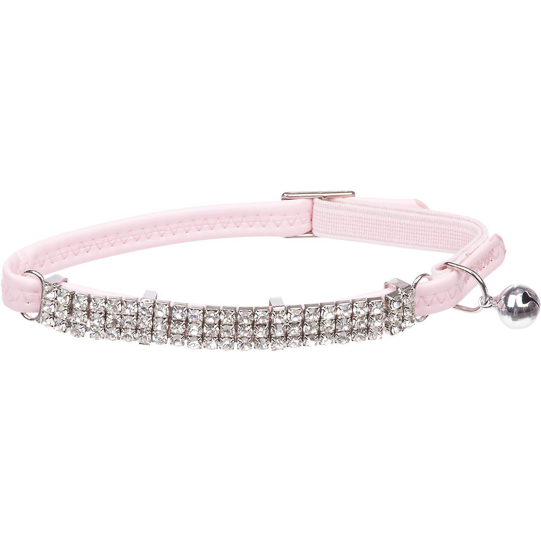 Bond & Co Pink Super Bling Cat Collar