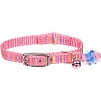 Petco Nylon Adjustable Pink & Stripes Kitten Collar
