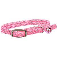 Petco Nylon Adjustable Reflective Pink & Gray Kitten Collar