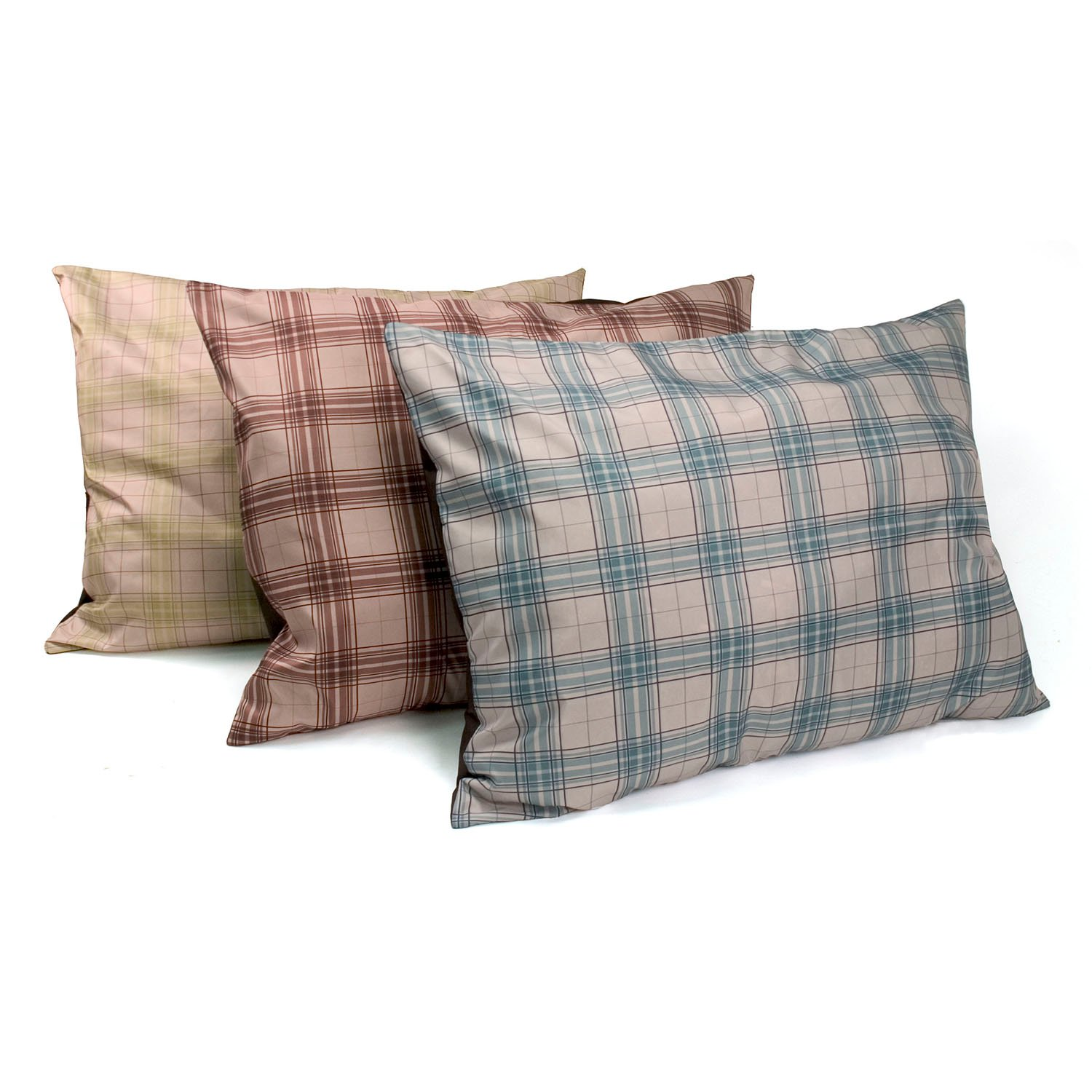 Dallas Manufacturing Dog Bed 3 Pack in Window Pane Plaid
