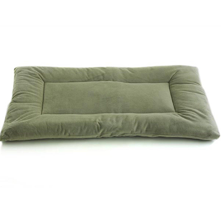 Pet Dreams Plush Sleep-eez Sage Green Reversible Dog Crate Pad