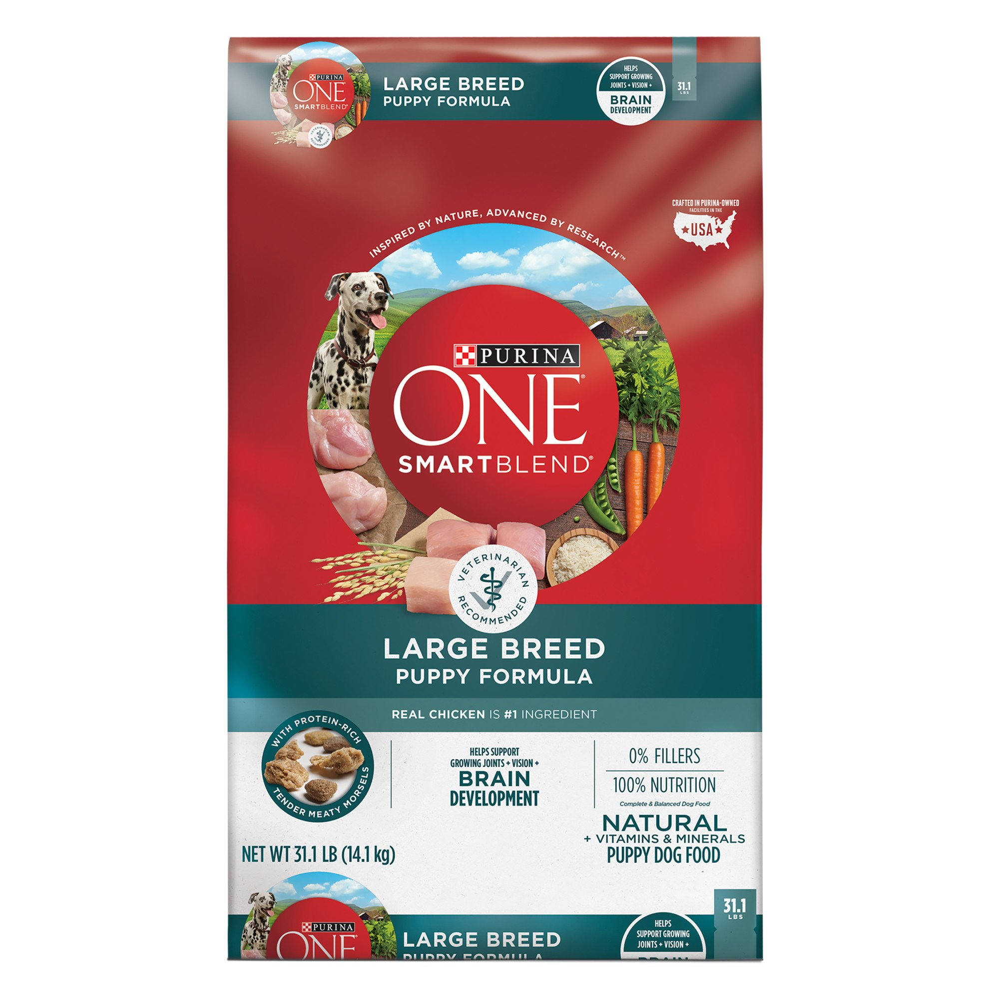 Purina ONE Large Breed Puppy Formula Food