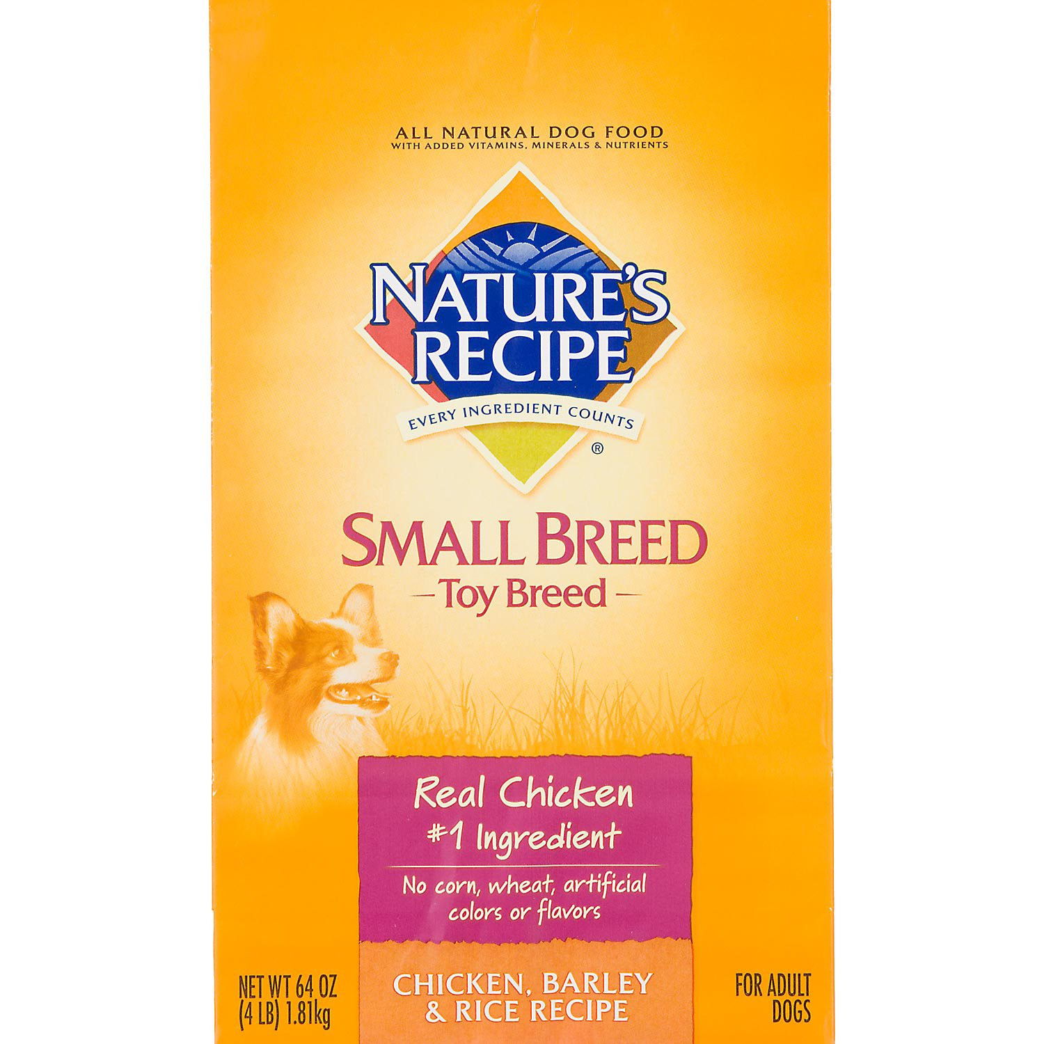 Nature's Recipe Dog Food for Toy Dogs