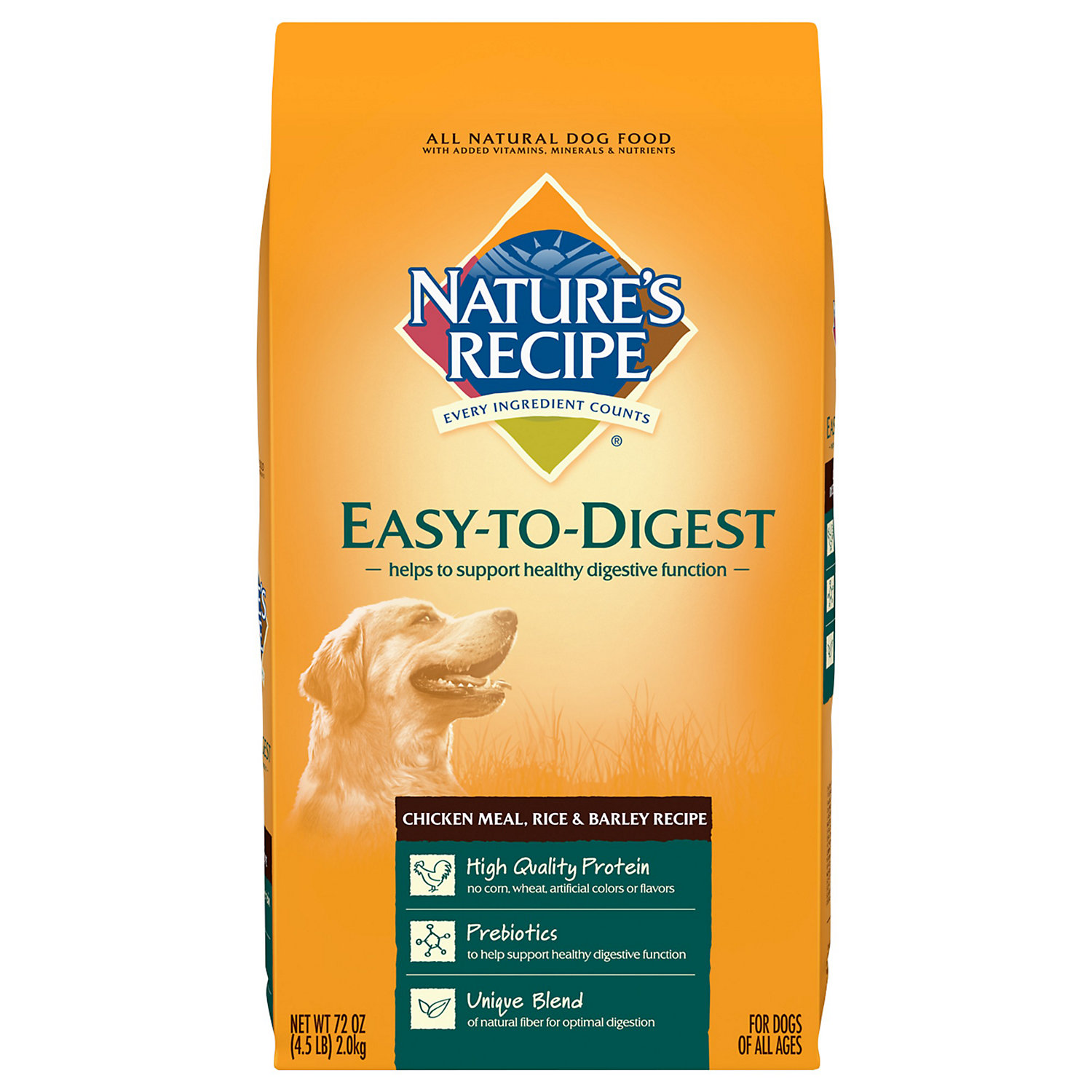 Nature's Recipe Easy to Digest Chicken Meal, Rice & Barley R