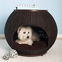 Refined Canine Igloo Deluxe End Table Dog Bed