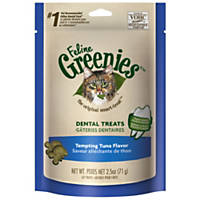 Feline Greenies Tempting Tuna Flavor, 2.5 oz.