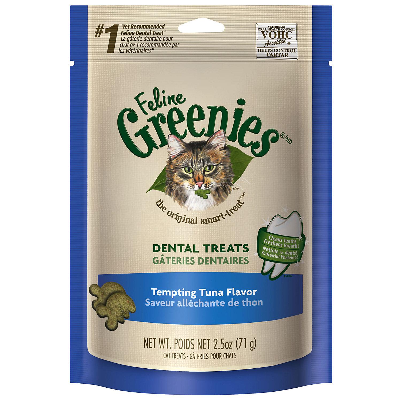 Feline Greenies Tempting Tuna Flavor 2.5 Oz.
