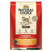 Nutro Natural Choice Chicken, Whole Brown Rice and Oatmeal Large Breed Senior Dog Food
