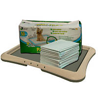 Richell Paw Trax Training Tray & Doggy Pads