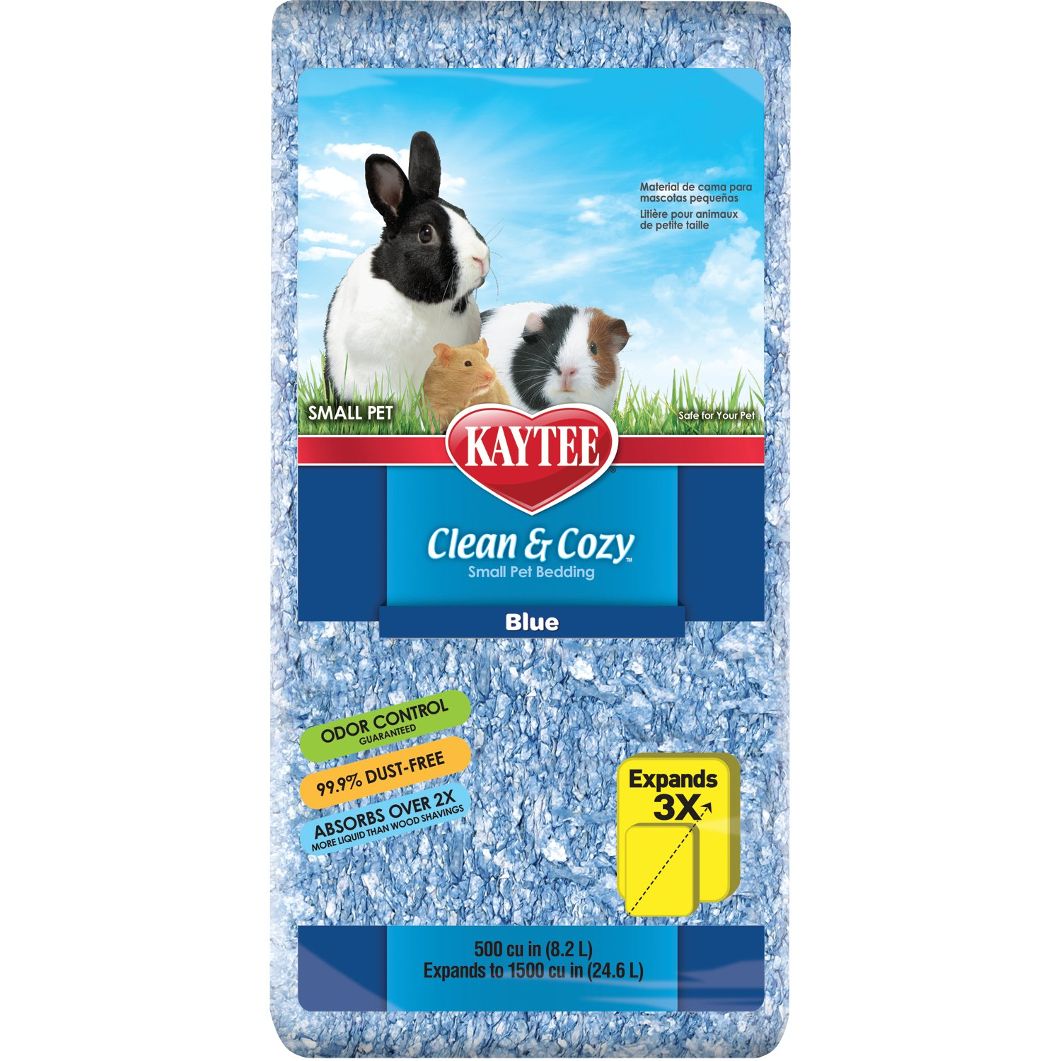Kaytee Clean & Cozy Blue Small Animal Bedding