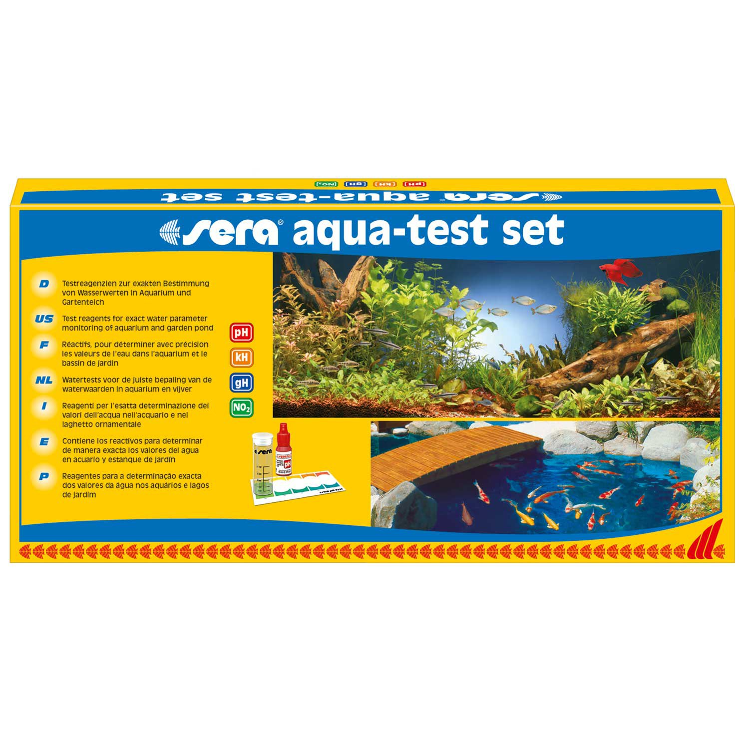 Sera Aqua-Test Set for Saltwater & Freshwater