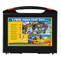 Sera Aqua-Test Box Marin Master Test Kit for Saltwater Aquariums
