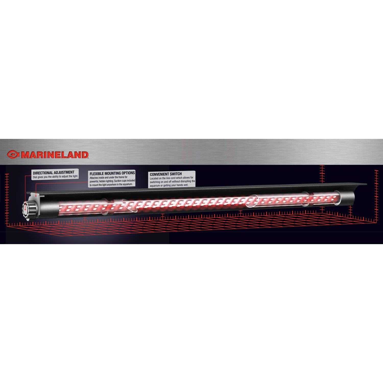 Marineland Red Accent LED Hidden Lighting