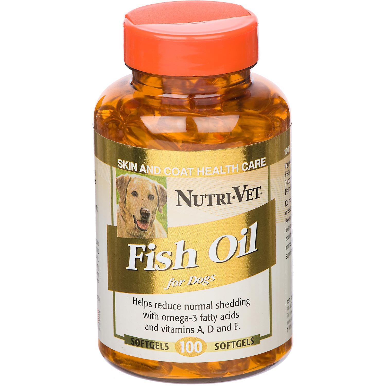 Nutri-Vet Fish Oil SoftGels for Dogs