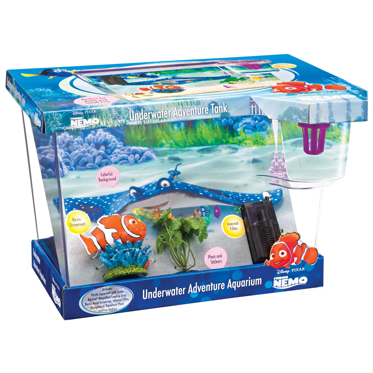 Image gallery nemo aquarium fish for Petco fish tank filters