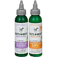 Vet's Best Ear Relief Wash & Dry for Dogs