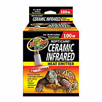 Zoo Med Repticare Ceramic Infrared Heat Emitters, 100 Watts