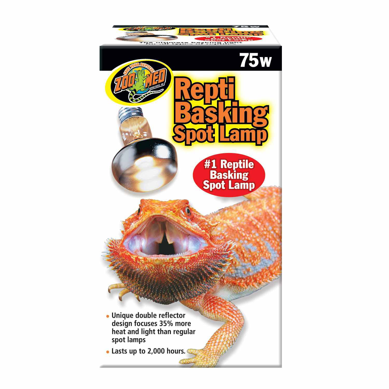 Zoo Med Repti Basking Spot Lamps, 75 Watts
