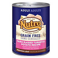Nutro Natural Choice Grain Free Adult Canned Dog Food