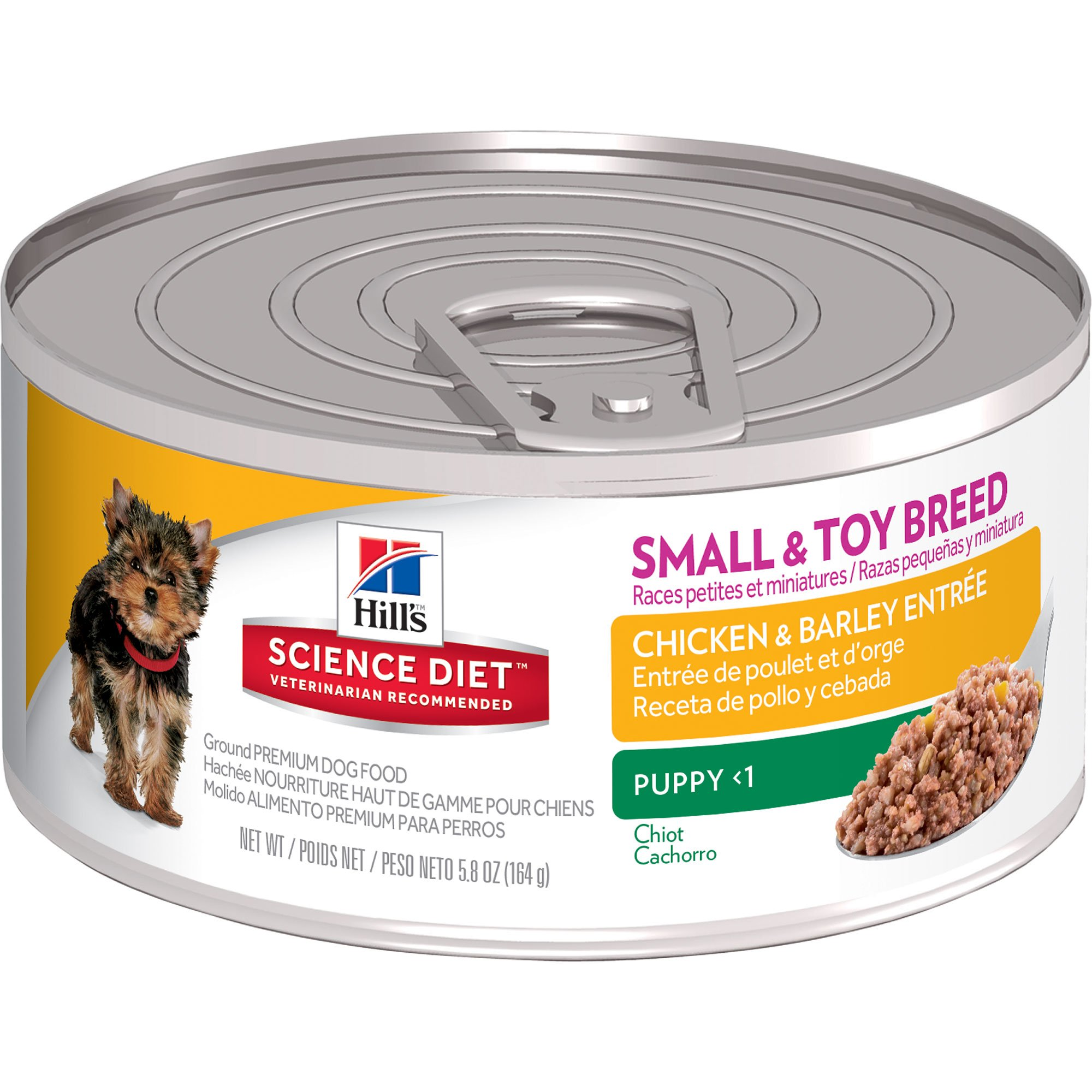 Hill's Science Diet Savory Chicken Canned Small & Toy Puppy Food