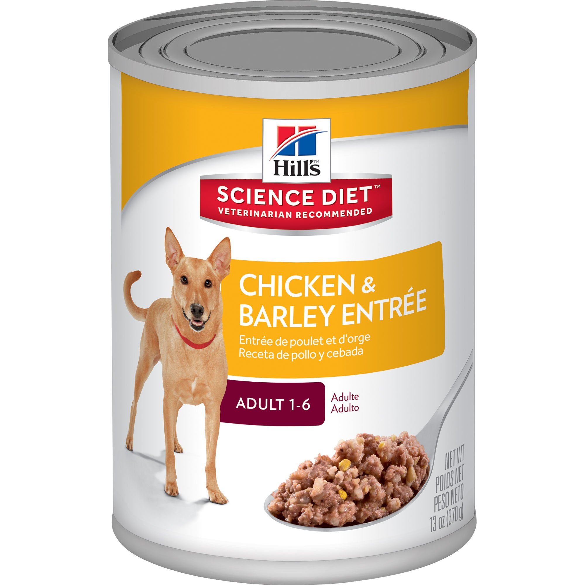 Hill's Science Diet Adult Savory Chicken Entree Canned Dog Food