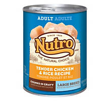 Nutro Natural Choice Chicken & Rice Formula Large Breed Adult Canned Dog Food