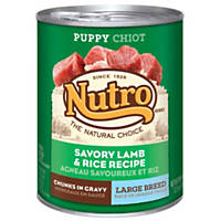 Nutro Natural Choice Lamb & Rice Chunks in Gravy Large Breed Puppy Food