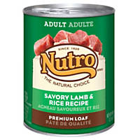 Nutro Natural Choice Lamb & Rice Chunks in Gravy Large Breed Adult Dog Food