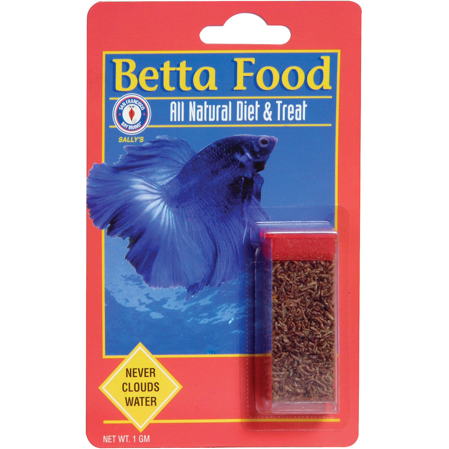 San Francisco Bay Brand Betta Food Freeze Dried Bloodworms